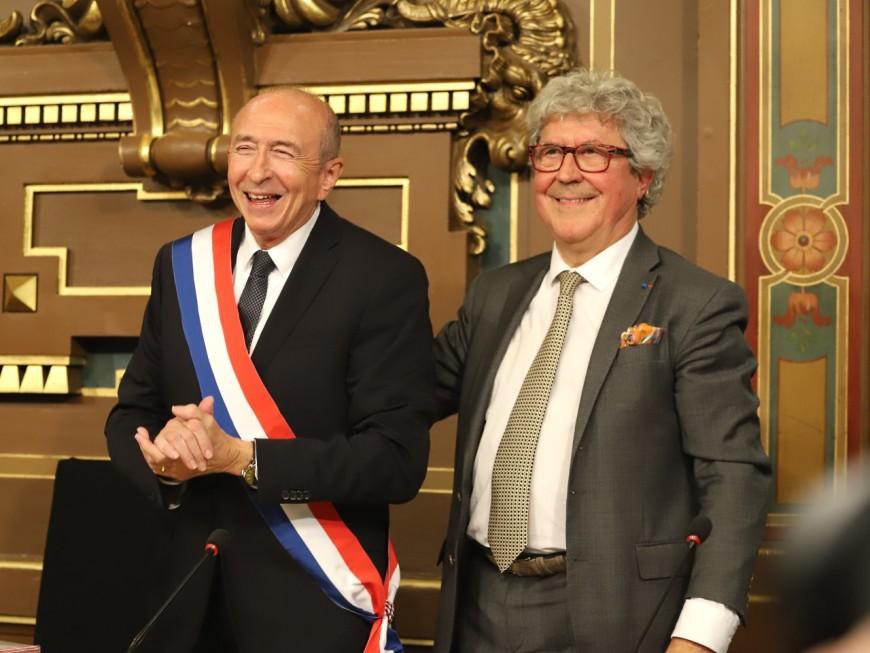 "Après son altercation avec Roland Bernard, Thomas Rudigoz demande à Gérard Collomb de condamner ""de tels dérapages"""