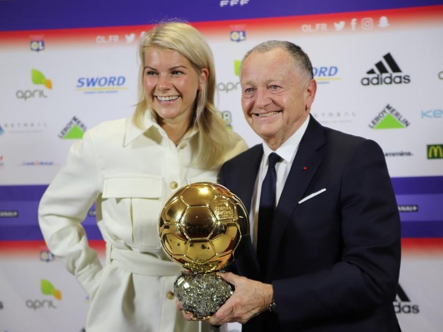 Ada Hegerberg a prêté son Ballon d'Or au musée de l'OL