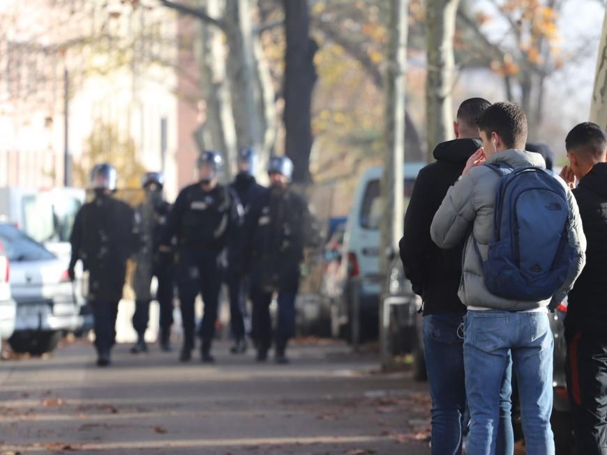 Lyon : le flop de la manifestation des lycéens malgré le renfort des profs