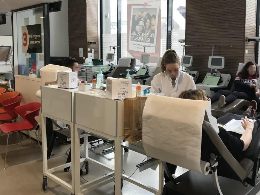 Lyon : l'EFS appelle aux dons du sang après la canicule