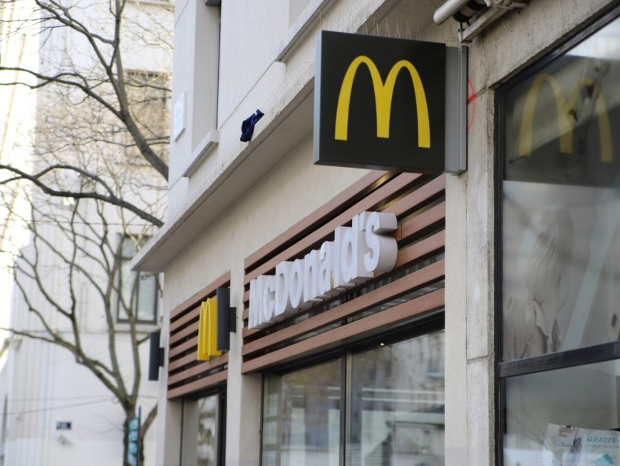 Villeurbanne : un McDonald's braqué ce lundi