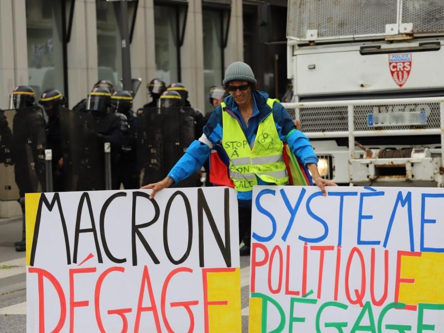 Réforme des retraites : 400 manifestants très calmes à Lyon