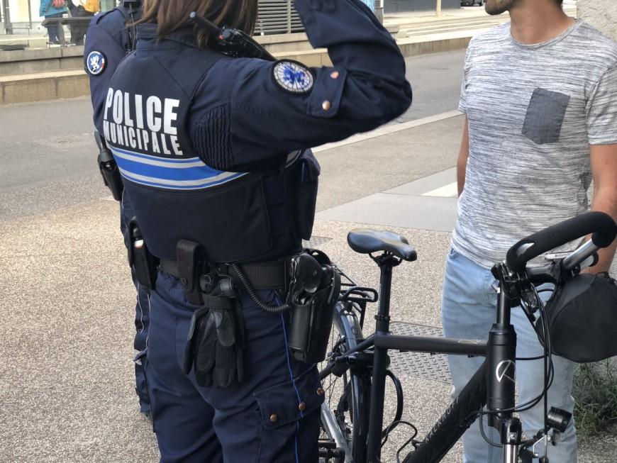 Lyon : 50 cyclistes verbalisés en seulement une heure, 1 interpellation