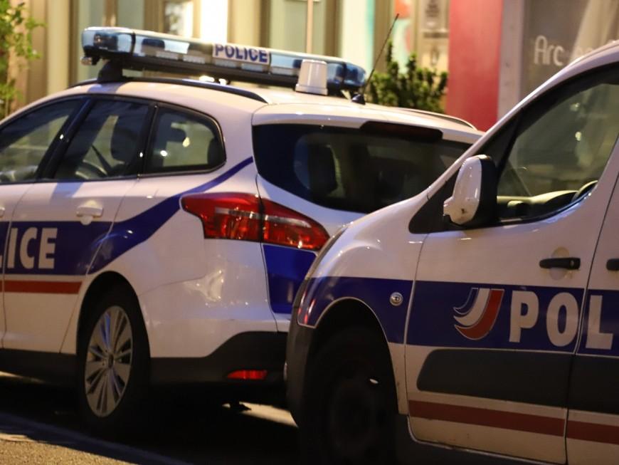 Lyon : le policier reçoit un pavé sur la tête à la Duchère