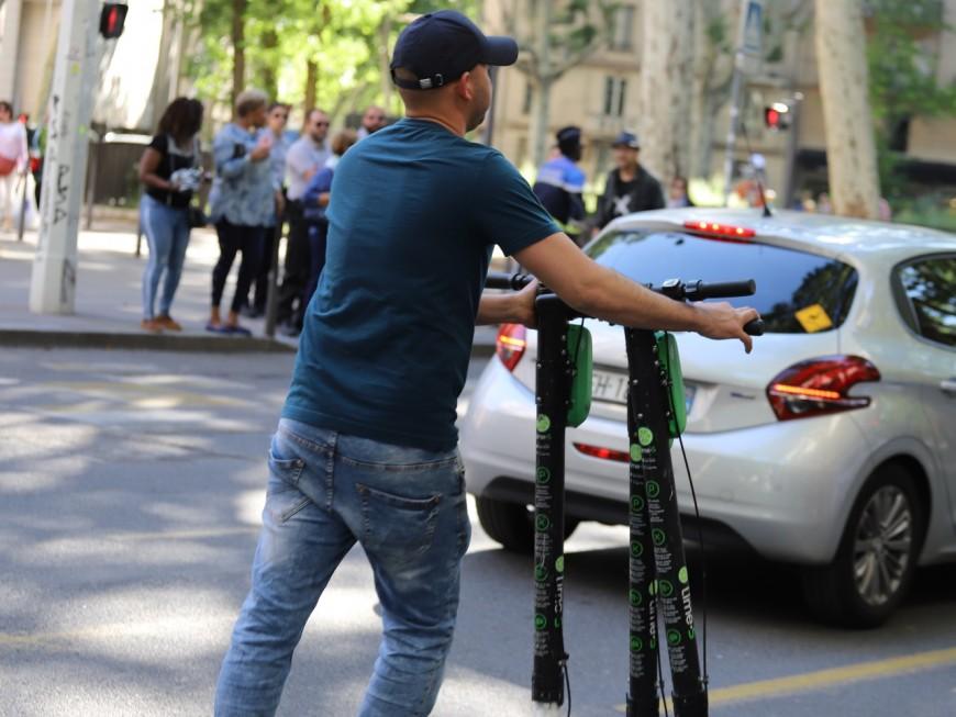 Villeurbanne : un arrêté du maire permet d'enlever les trottinettes électriques gênantes