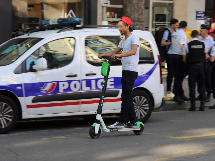 Trottinettes électriques : la répression débute à Lyon