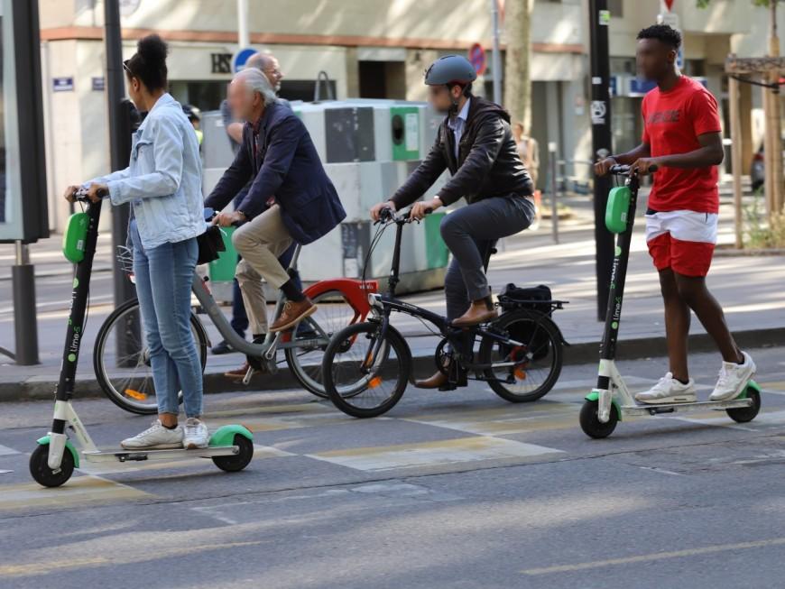 Lyon : deux blessés dans un accident vélo contre trottinette