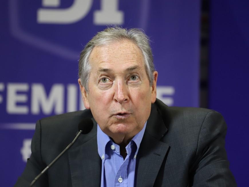 Gérard Houllier, ancien entraîneur de l'OL, est décédé