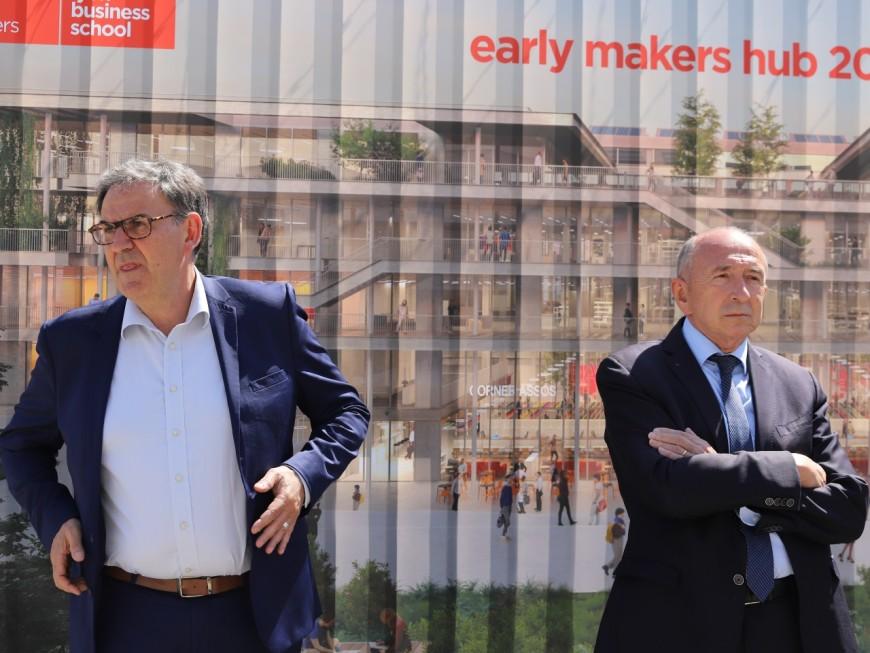 """Municipales 2020 : Richard Ferrand estime que LREM doit """"accompagner"""" Gérard Collomb"""