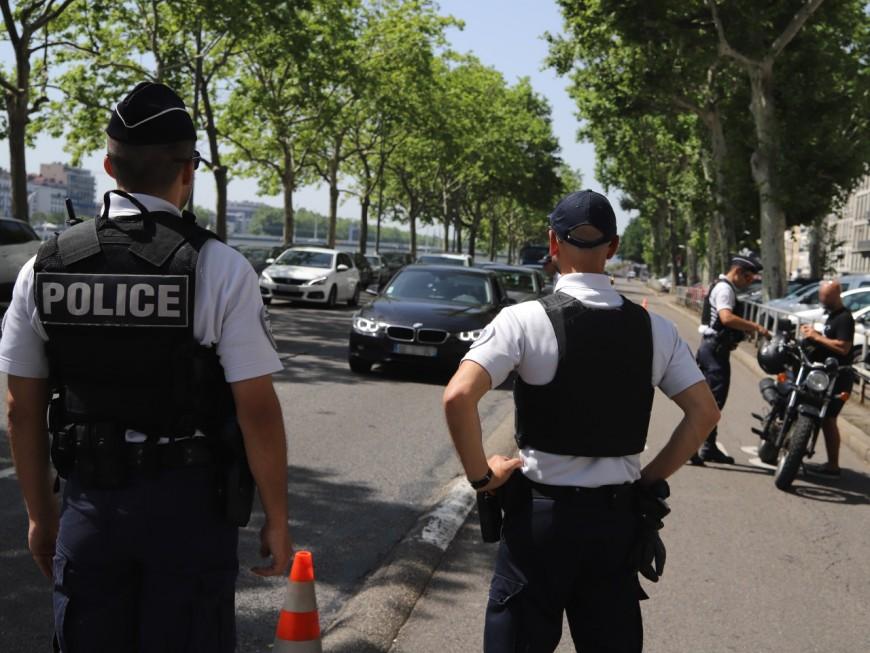 Lyon : le policier ouvre le feu sur une conductrice ivre et sous l'emprise de la cocaïne