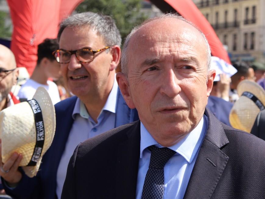 """Candidat en 2020 face à Kimelfeld, Collomb """"écoutera"""" les arguments de Macron"""