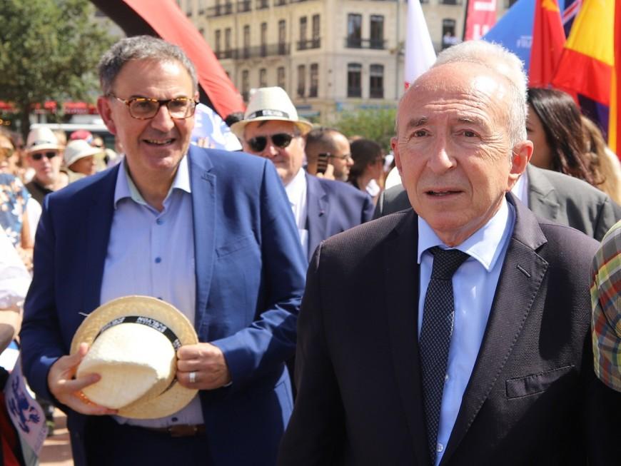 Voeux aux Lyonnais des candidats pour 2020 : Gérard Collomb les obsède !