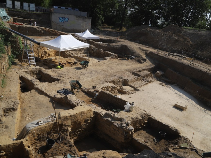Lyon : de l'armement romain découvert sur le chantier archéologique de la Visitation - VIDEO