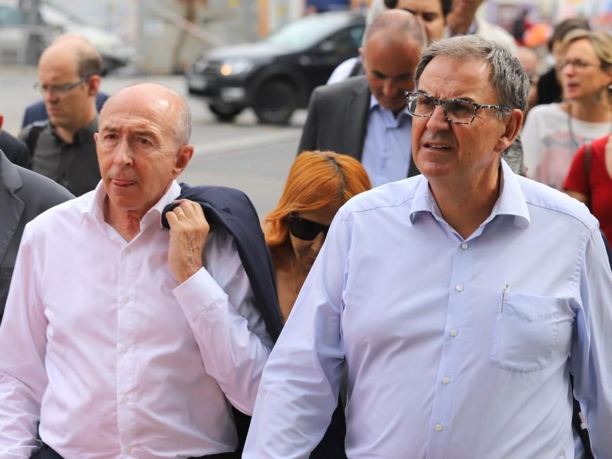 Négociations autour du Rhônexpress : Kimelfeld demande à Collomb de se taire