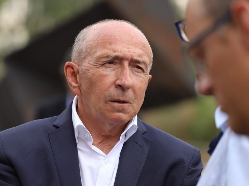 Fouziya Bouzerda et Renaud George, directeurs de campagne de Gérard Collomb pour 2020