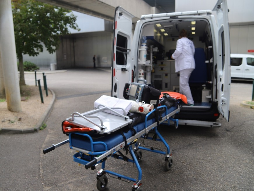 Grave accident de scooter à Vaulx-en-Velin