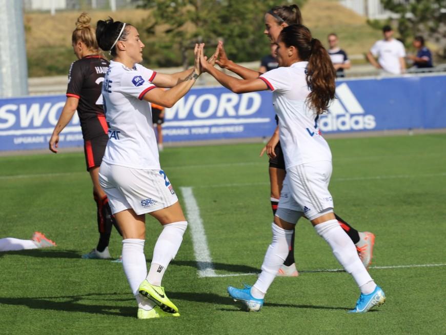 L'OL féminin met les choses au clair en battant son rival Paris FC (4-0)