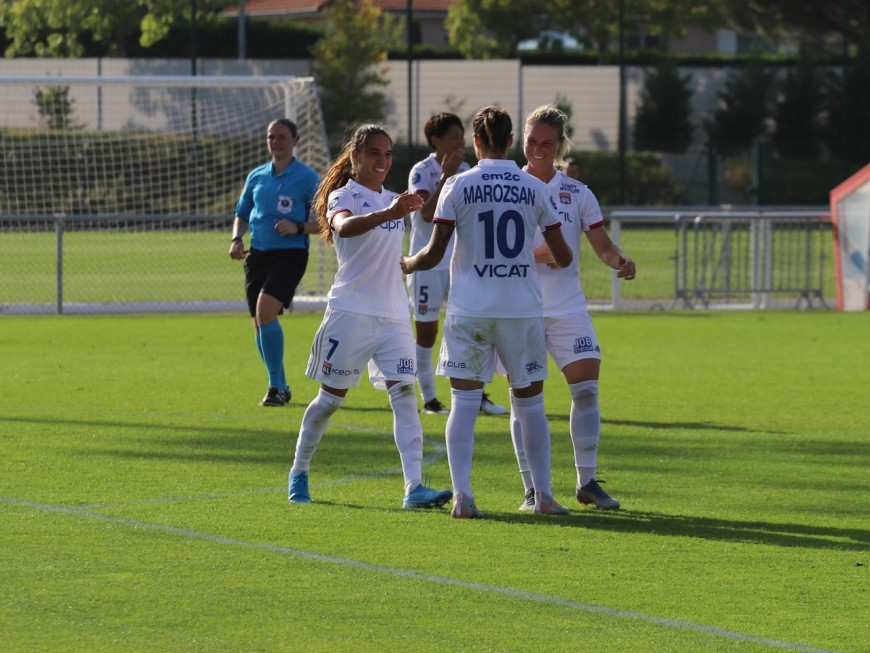 OL féminin: les Lyonnaises faciles contre les Polonaises du Gornik Leczna (9-0)