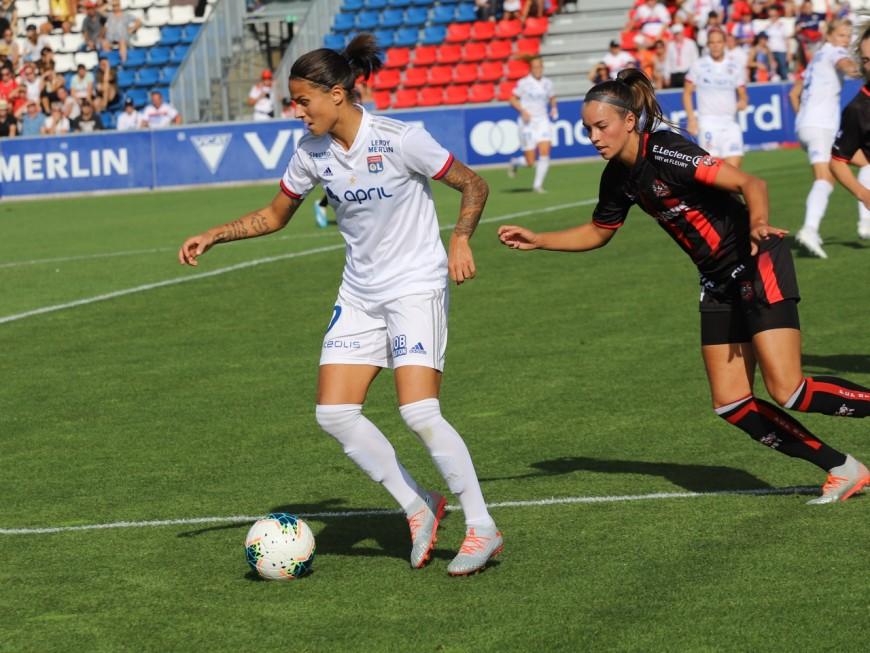 L'OL féminin commence bien l'année en s'imposant contre Dijon (3-0)
