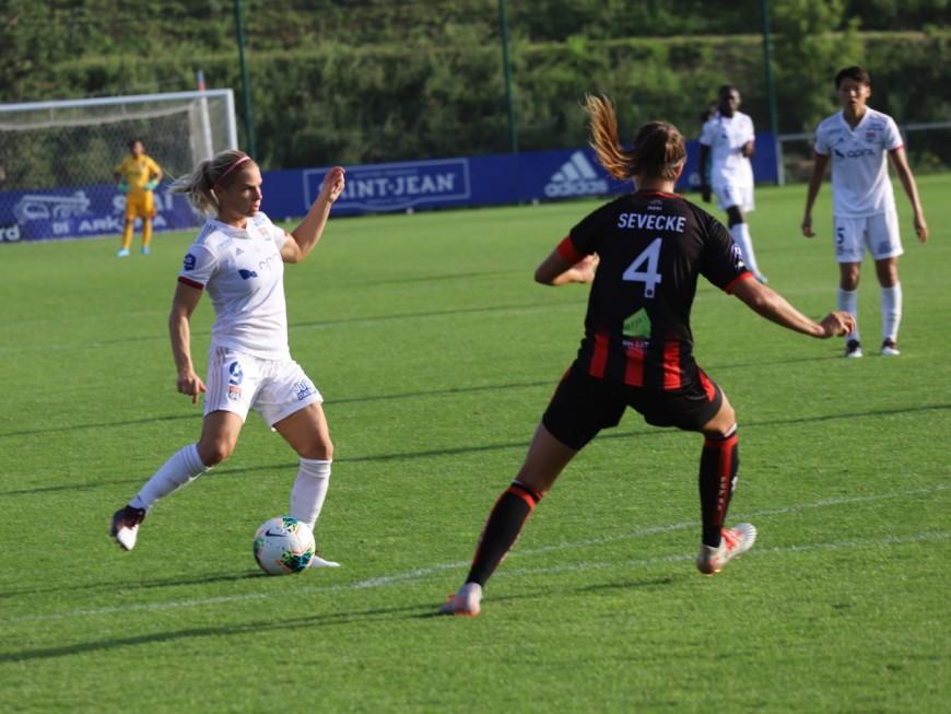 OL Féminin-DFCO : les Lyonnaises reçues cinq sur cinq (2-0)