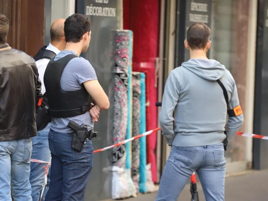 Lyon : l'homme qui a agressé des policiers avec une hache placé en garde à vue