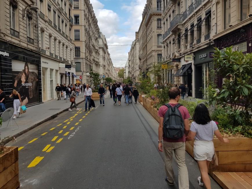Les commerçants de la Presqu'île et la piétonnisation : premiers retours mitigés à Lyon