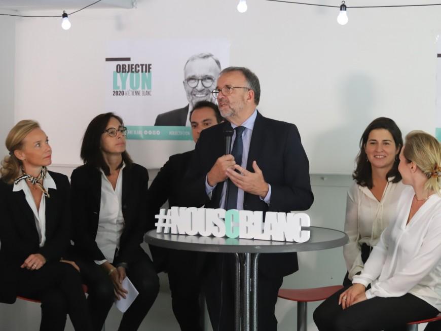 Lyon : Etienne Blanc espère une nouvelle démocratie municipale
