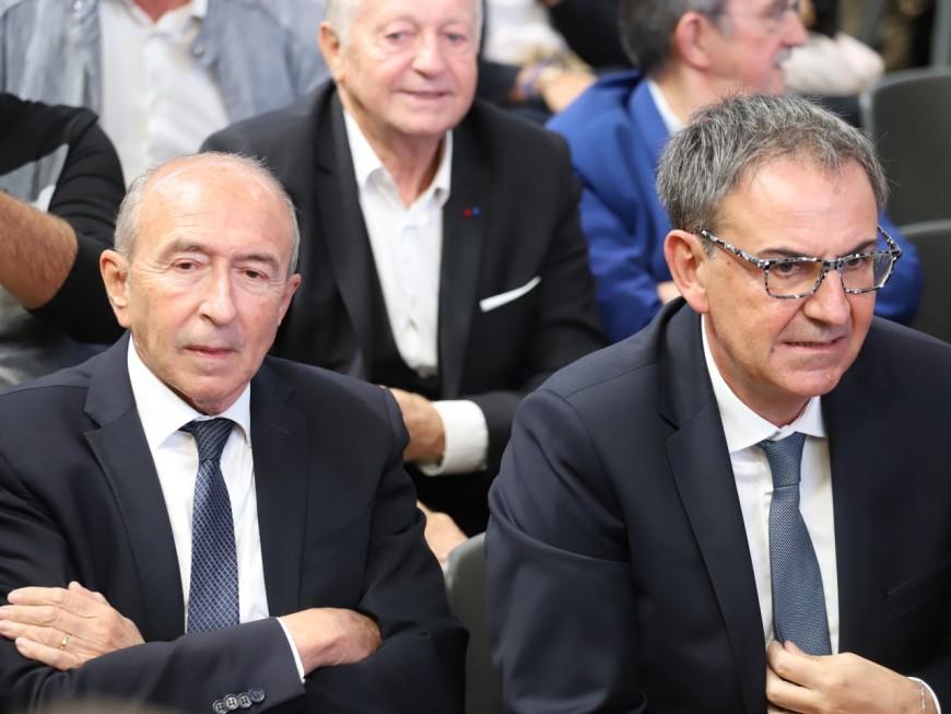 Métropole de Lyon : David Kimelfeld lance sa campagne, Gérard Collomb et LREM obligés de réagir