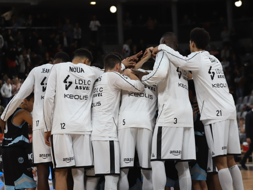La barre des 100 points et l'ASVEL conclut bien 2019 contre Gravelines