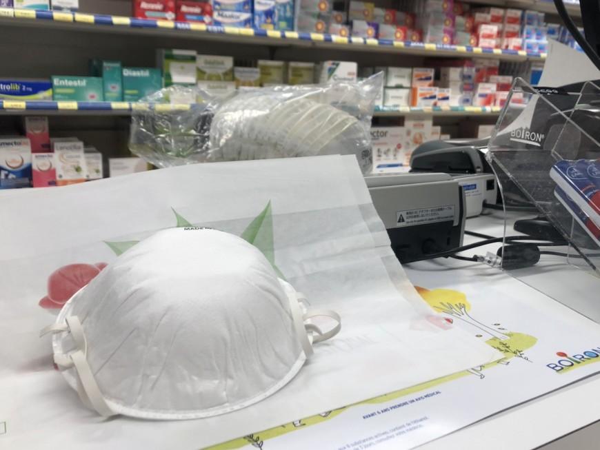 Lyon: condamnation du pharmacien qui continuait à vendre des masques malgré la réquisition
