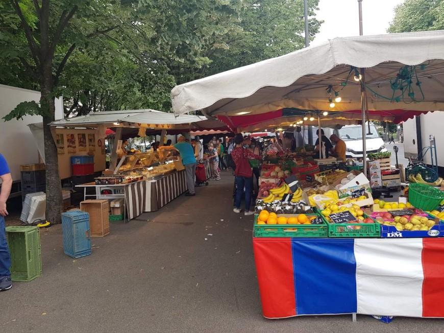 Villeurbanne : retour des marchés alimentaires dès mardi
