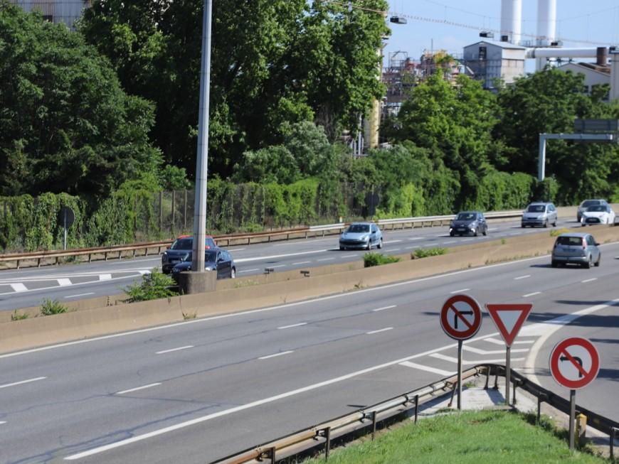 Accident sur le périphérique Laurent-Bonnevay : quatre blessés graves