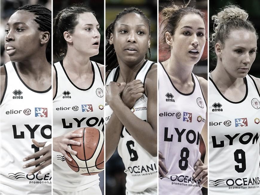 Le Lyon ASVEL Féminin voit partir sept joueuses