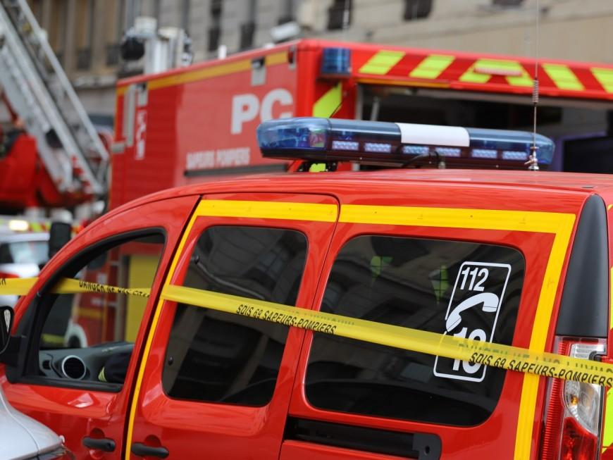Violent incendie à Villeurbanne: deux dames âgées sont décédées