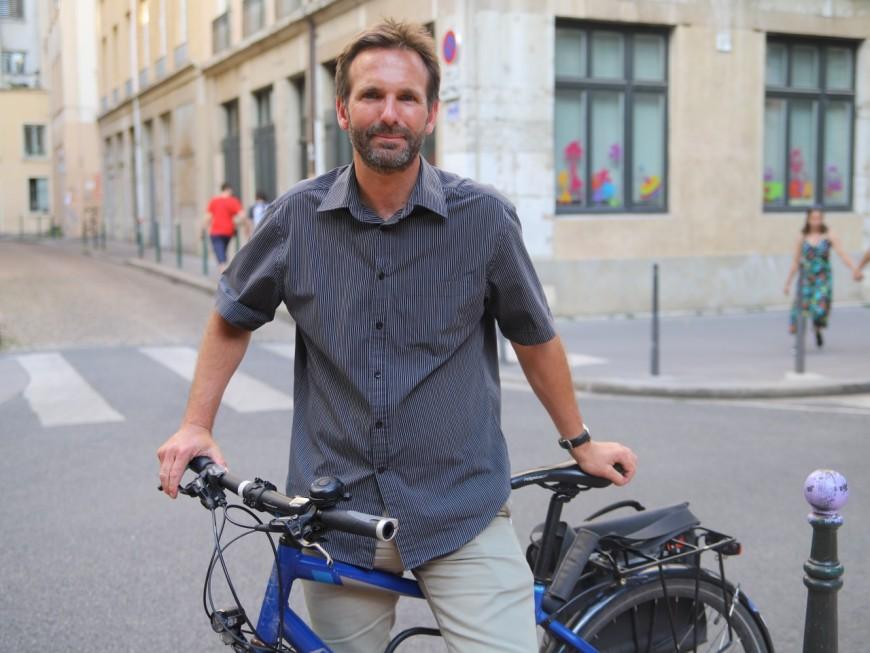 Lyon : le vélo de Fabien Bagnon volé à la Guillotière