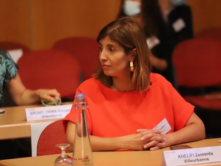 Lyon : Zémorda Khelifi future patronne des pompiers du Rhône