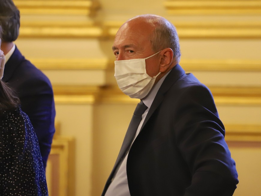 """Gérard Collomb : """"J'ai peur de voir détruire tout ce que j'ai fait"""" à Lyon"""
