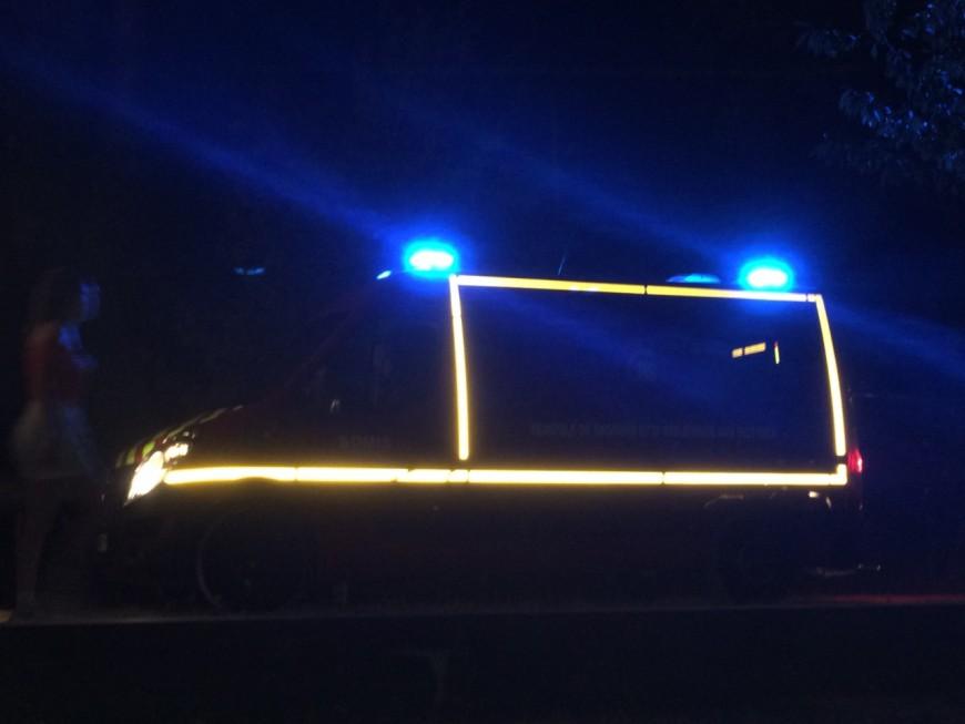 Près de Lyon : un conducteur prend la fuite après un accident