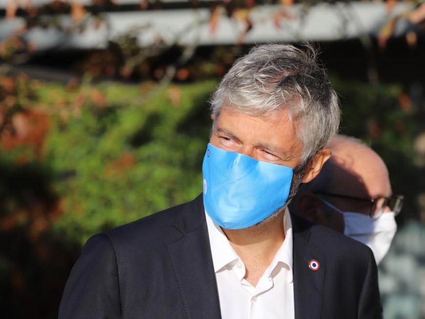 """Auvergne-Rhône-Alpes : la gauche accuse Laurent Wauquiez de greenwashing avec un projet d'autoroute """"bas carbone"""""""