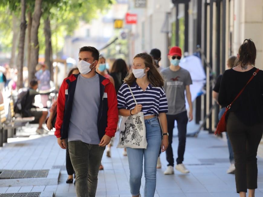 Coronavirus: obligation du port du masque prolongée à Lyon et Villeurbanne