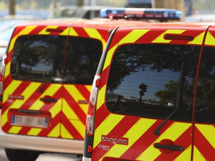 Une personne blessée après un accident sur l'A46 près de Lyon