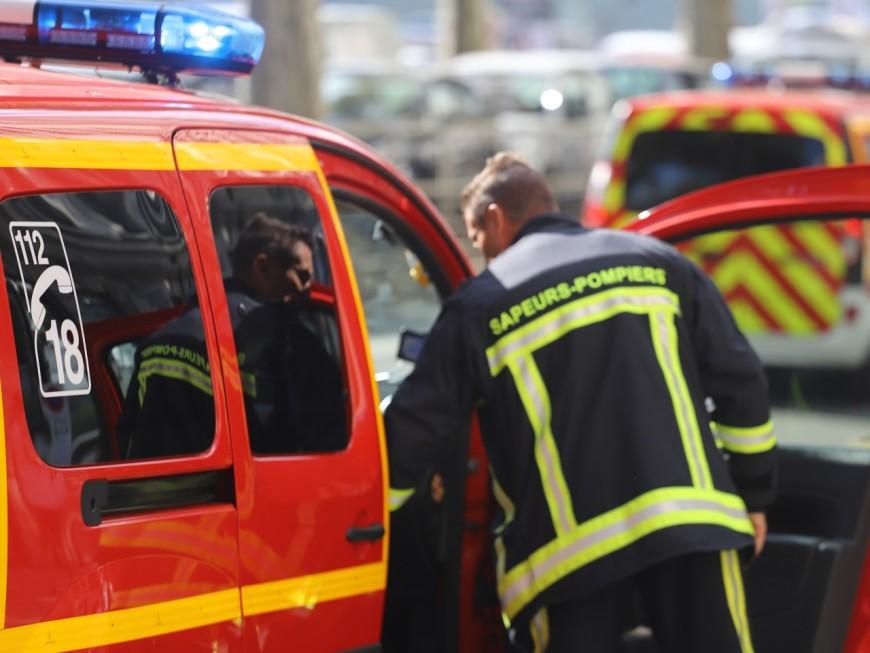 Lyon : les pompiers mobilisés de nombreuses heures pour un incendie dans le 8e arrondissement