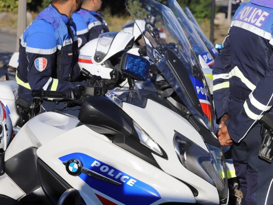 Près de Lyon : un jeune conducteur flashé en moto à 208 km/h sur une portion limitée à 110 km/h