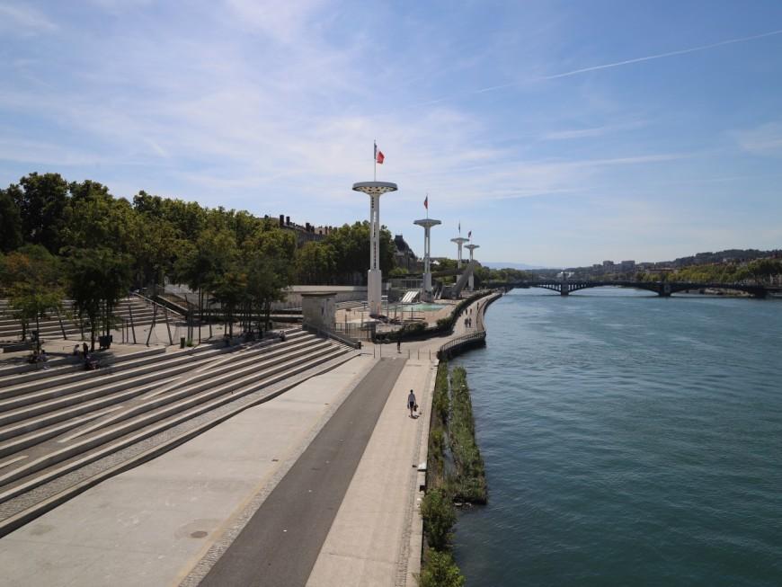 Lyon : il arrache la chaîne d'un passant sur les berges du Rhône