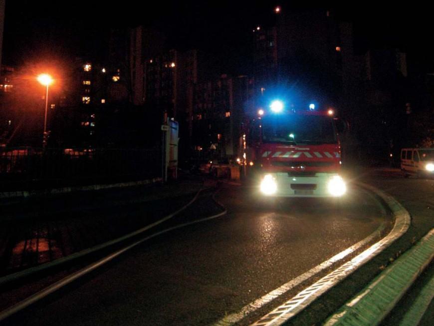 Lyon : une trentaine de pompiers mobilisés ce vendredi sur un incendie à la Part-Dieu