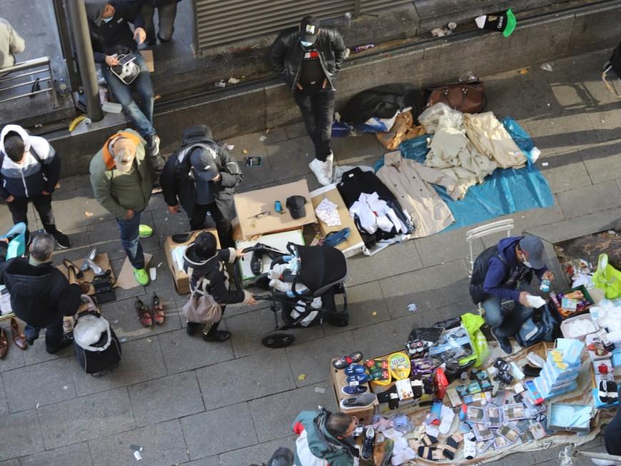 Lyon : opération coup-de-poing contre le marché clandestin de la Guillotière (de retour dès le lendemain)