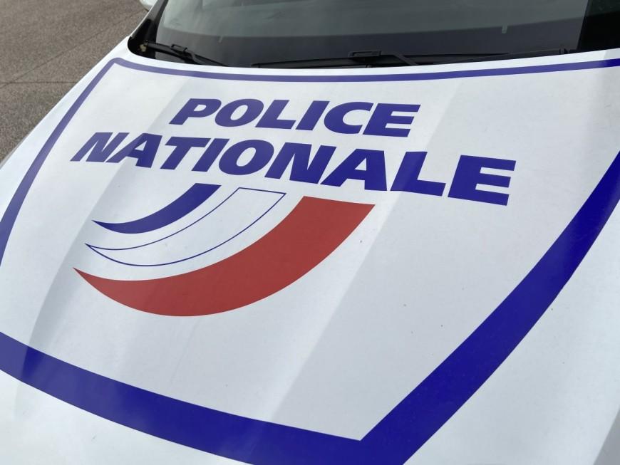 Lyon: un équipage de policiers percuté par une voiture