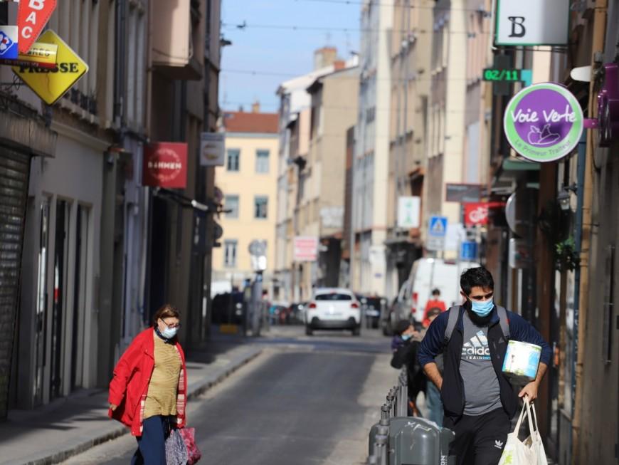 Le port du masque désormais obligatoire dans tout le département du Rhône