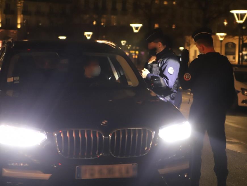 Villeurbanne : sans permis, il pilotait un SUV BMW loué par sa copine