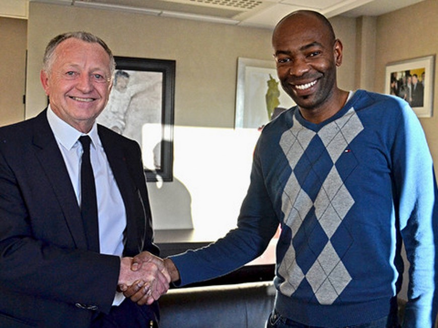 OL : Caçapa s'engage officiellement comme conseiller des défenseurs